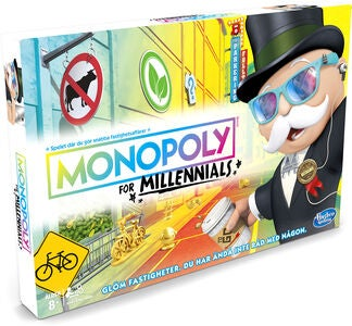 Hasbro Monopoly for Millennials