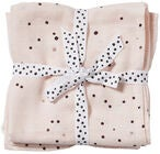 Done By Deer Muslinfilt Dreamy Dots 2-pack, Powder