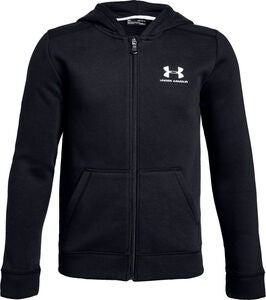 Under Armour Cotton Fleece Tröja, Black