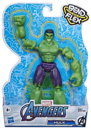 Marvel Avengers Bend And Flex Figur Hulken