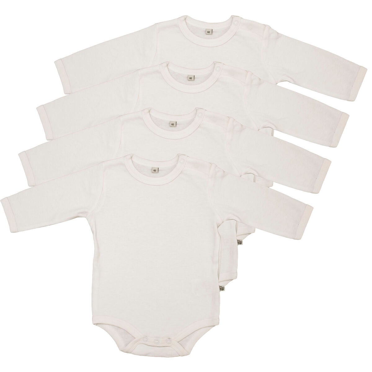 Pippi Body 4-Pack White