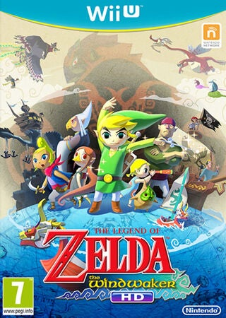 Nintendo Wii U Legend of Zelda HD