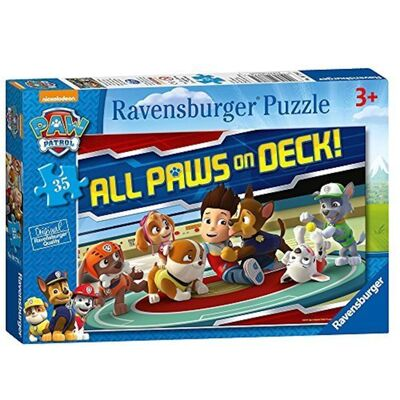 Paw Patrol All Paws on Deck Pussel 35 Bitar