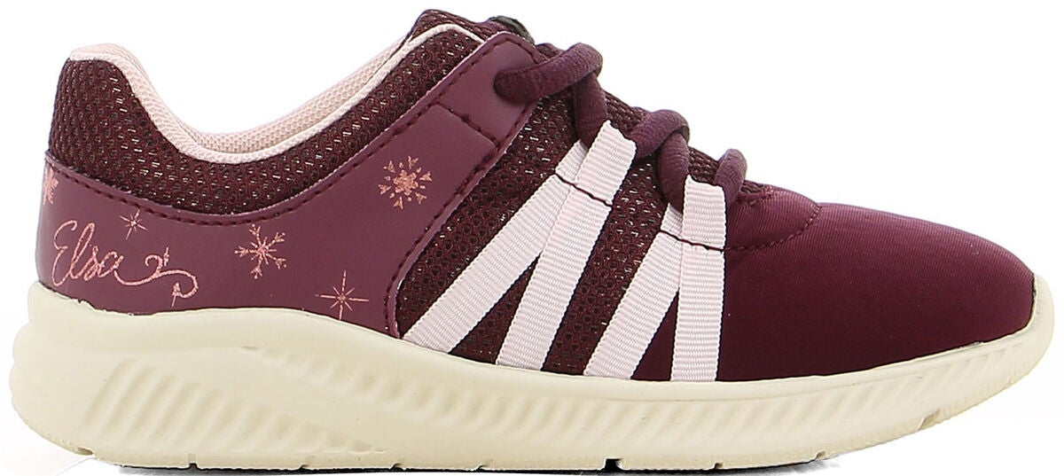 Disney Frozen Sneaker, Burgundy