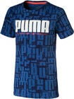 Puma Active Sports Aop T-Shirt, Blue
