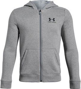 Under Armour Cotton Fleece Tröja, Steel