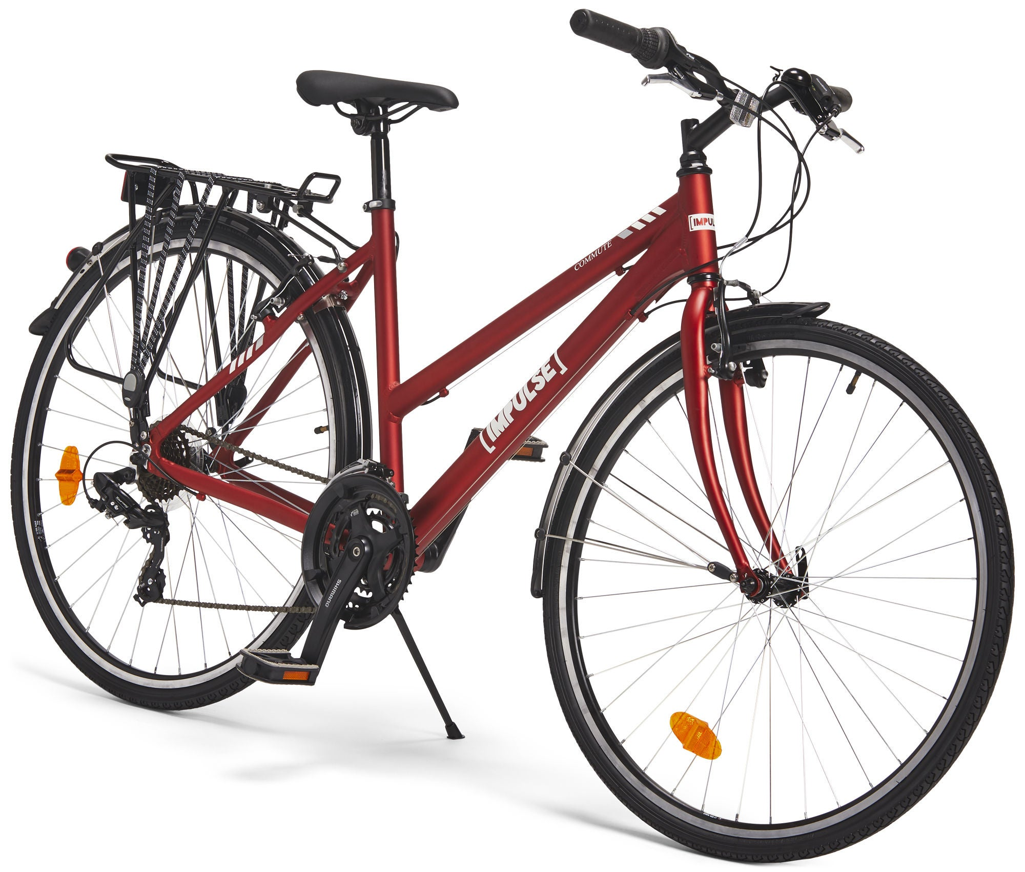 Nykomna Köp Impulse Premium Commute Cykel 28 tum, Red | Jollyroom BC-72
