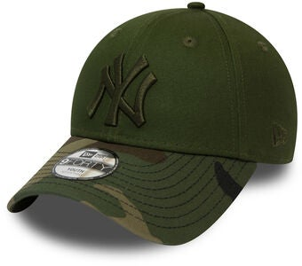 New Era Camo 9FORTY KIDS NEYYAN Keps, New Olive Woodland Camo