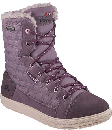 Viking Zip II GTX Känga, Dark Grey/Plum