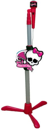 Monster High Mikrofon Med Stativ