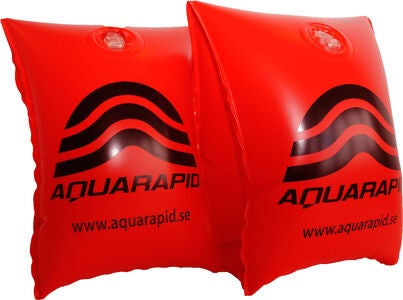 Aquarapid Swim-Wings Armringar, Röd