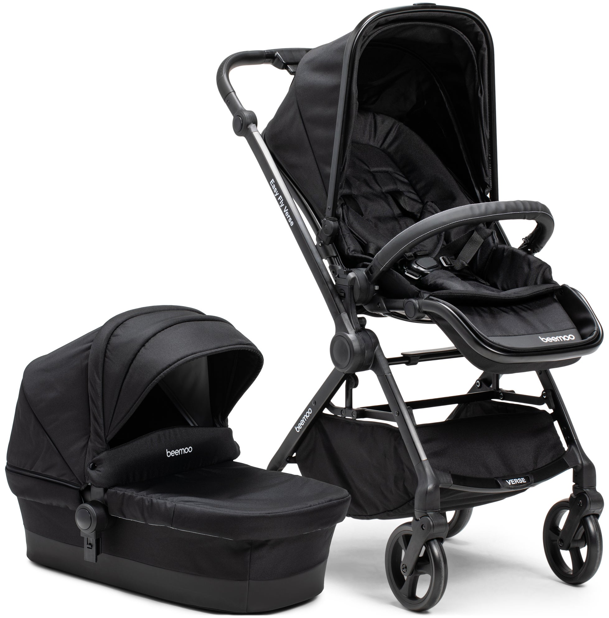 Beemoo Easy Fly Verse Duovagn, Black
