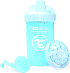 Twistshake Crawler Cup 300 ml, Pastell Blå