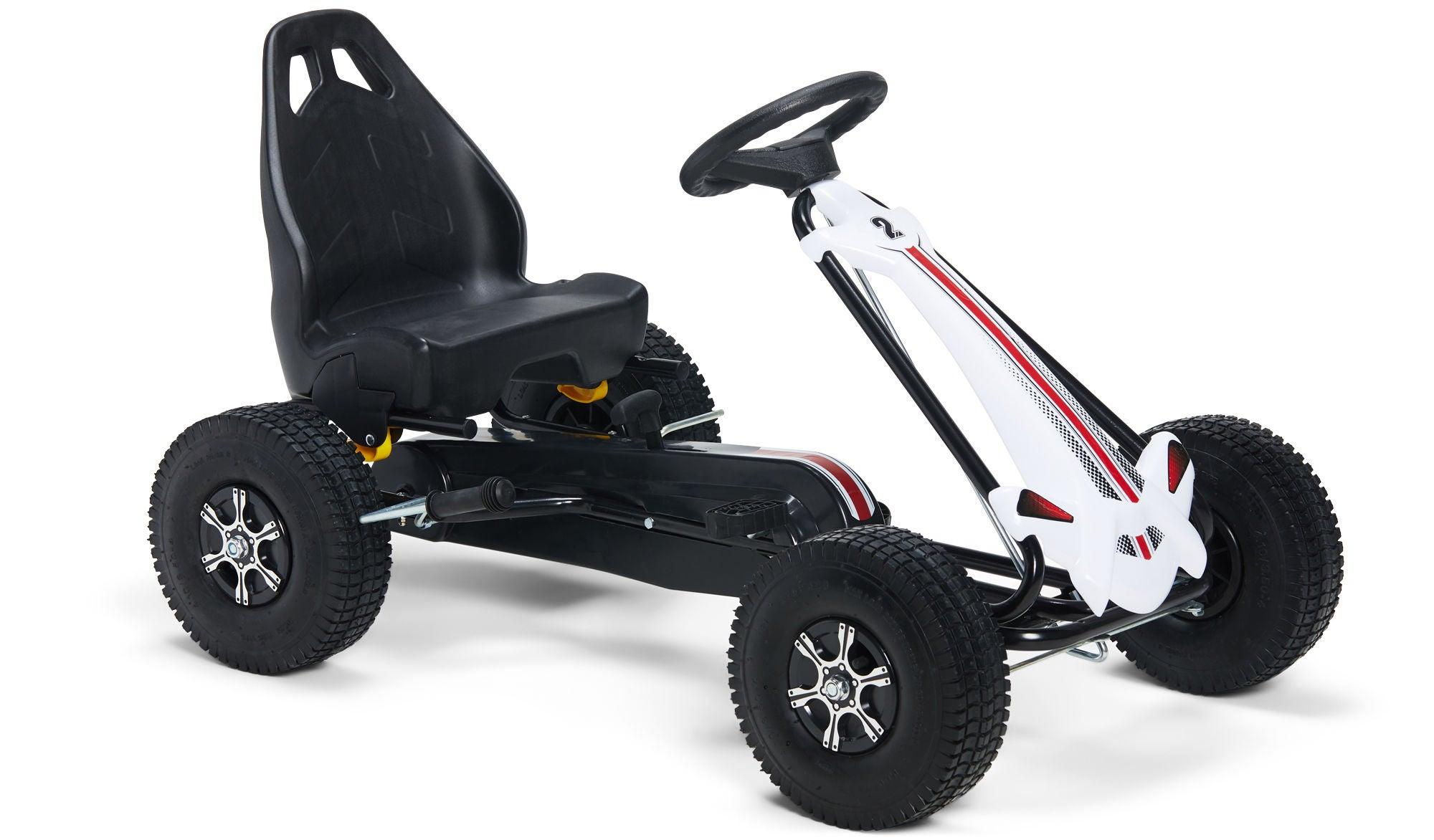 Alex's Garage Trampbil Go-kart, Vit