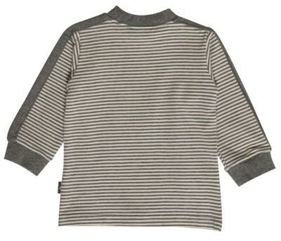 Hust & Claire T-Shirt Elefant, Wool Grey