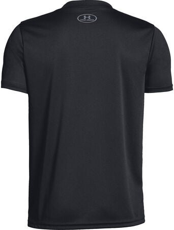 Under Armour Solid T-Shirt, Black