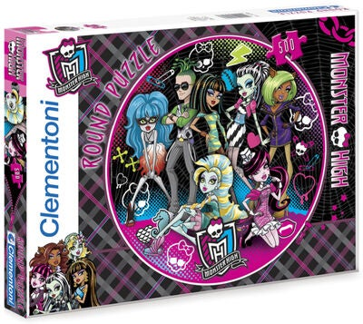 Monster High Pussel Tondo 500 bitar