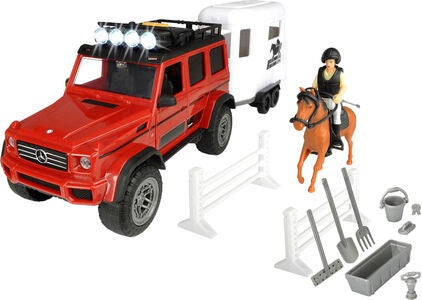 Dickie Toys Playlife Lekset Hästtransport