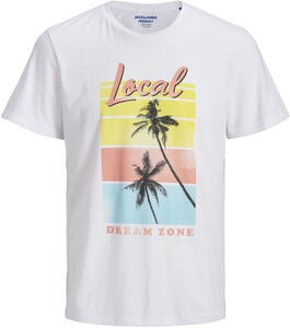 Jack & Jones Laguna T-Shirt, White