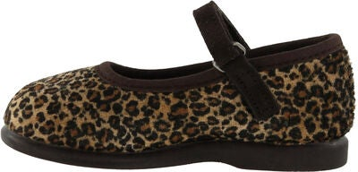 Victoria Mercedes Leopardo Ballerina, Brown