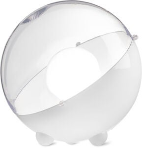 Koziol Golvlampa Orion Transparent, Vit