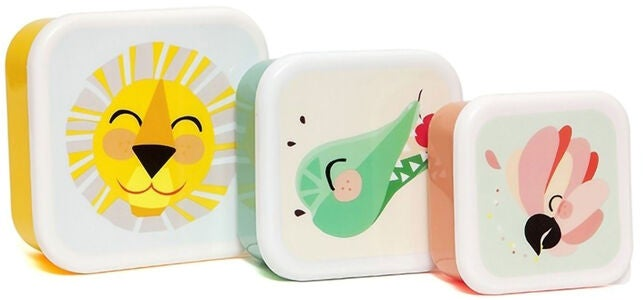 Petit Monkey Lunchbox Djungel