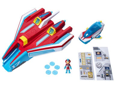 Paw Patrol Mighty Pups Supersonic Jetplan 2in1