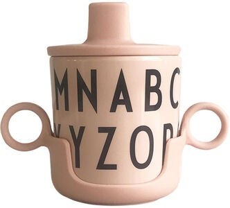 DESIGN LETTERS Grow With Your Cup Melaminmugg, Nude
