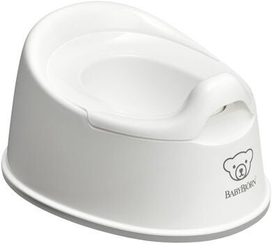 BabyBjörn Smart Potta, White/Grey