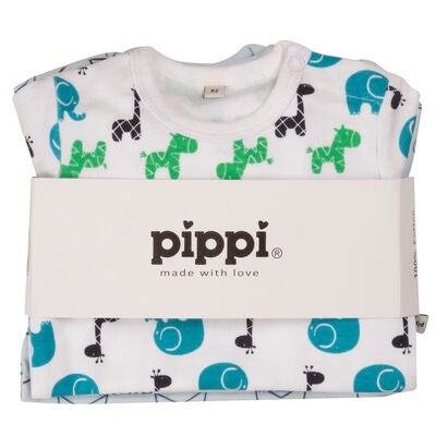 Pippi Body 4-Pack Light Blue