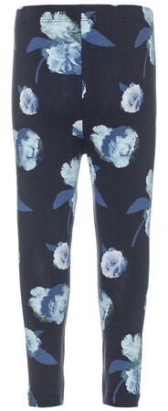 Name it Mini Leggings La Flower, Dress Blues