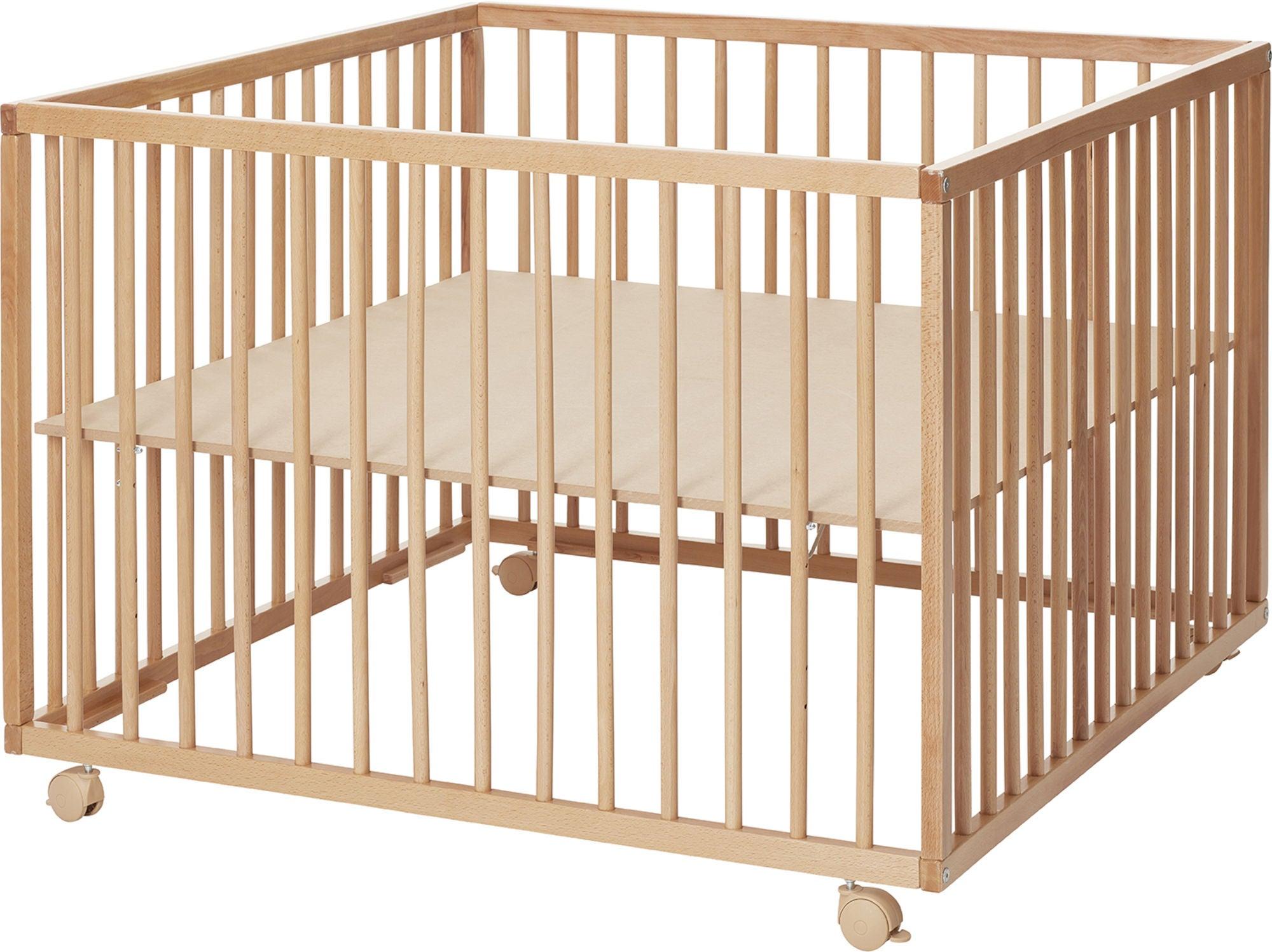 BabyDan Comfort Lekhage 99x99x73 cm, Natur