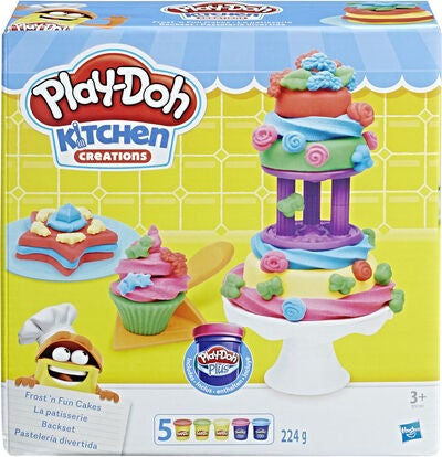 Play-Doh Frost and Fun Cakes