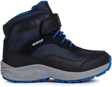 Geox New Alaska WPF Vinterkänga, Black/Royal