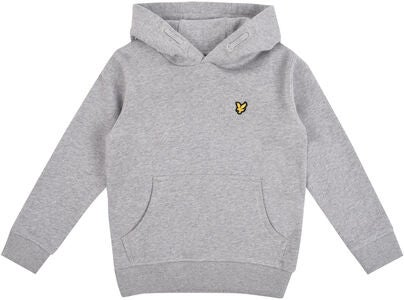 Lyle & Scott Junior Classic OTH Hoodie, Fleece Vintage Grey Heather