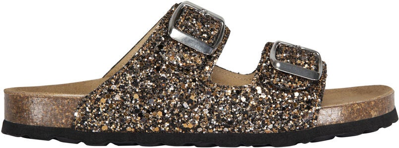 Petit by Sofie Schnoor Glitter Toffla, Black Gold