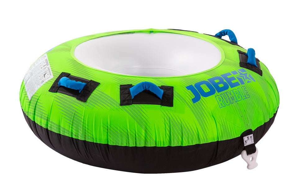 JOBE Rumble Towable Funtube Badring 1 Person Grön