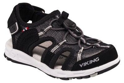 60f1b8ea Köp Viking Thrill II Sandal, Black/Grey   Jollyroom