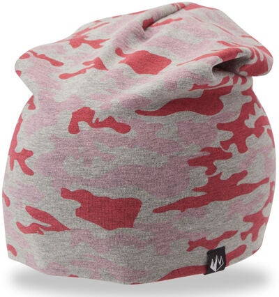 State Of Wow Camo 365 Youth Beanie, Grey/Pink