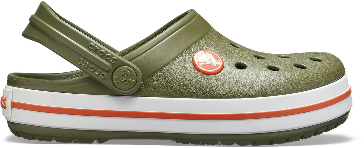 Crocs Crocband Clog, Army Green/Burnt Sienna