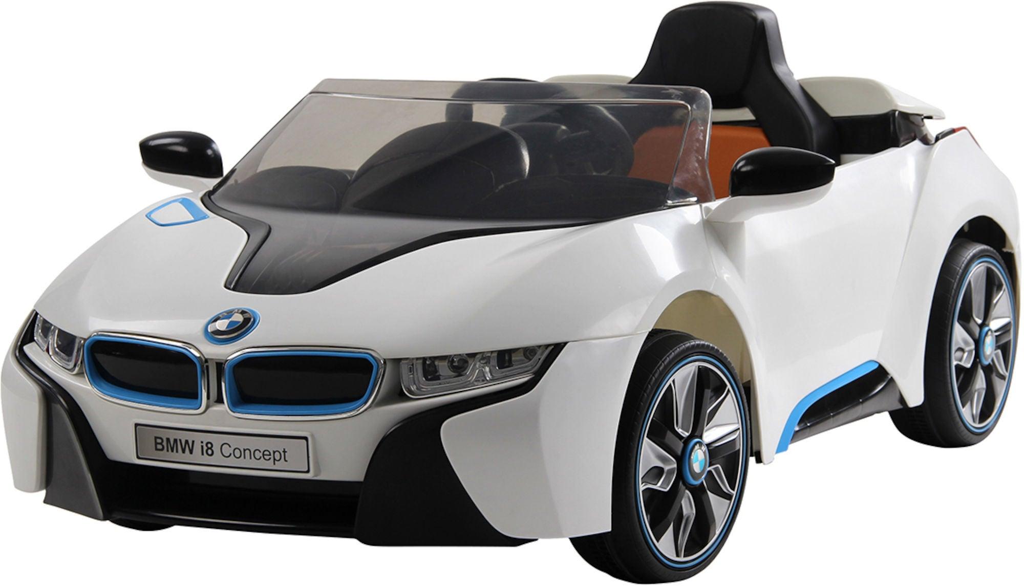 BMW i8 Elbil, Vit