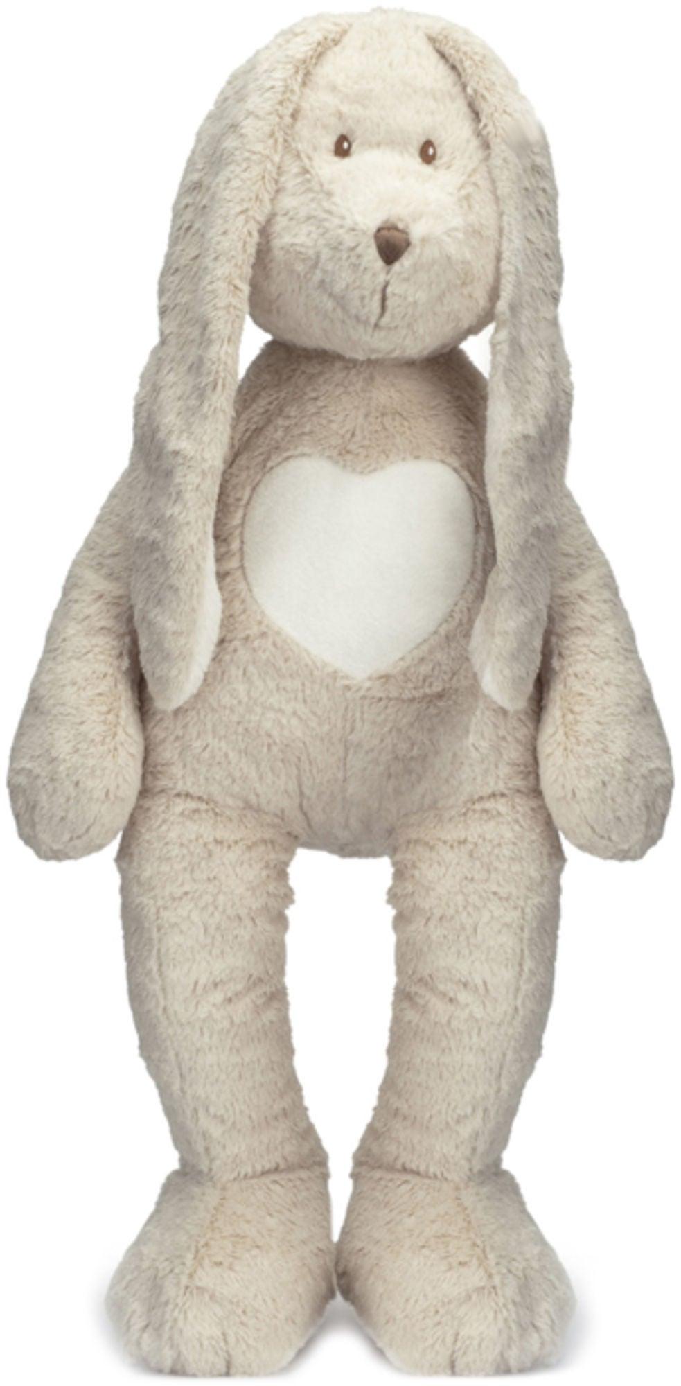 Teddykompaniet Gosedjur Kanin Teddy Cream Grå