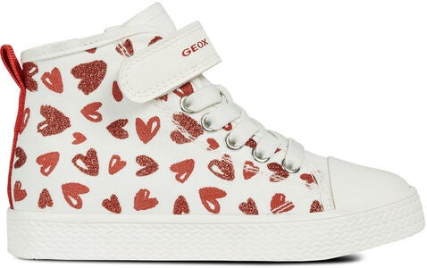 Geox Ciak Sneaker, White/Red