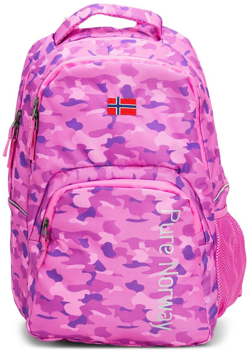 Köp Pure Norway Free Waterproof Ryggsäck, Camouflage Rosa