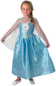 Disney Frozen Utklädnad Elsa Snödrottning Deluxe f8670fcc37582