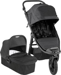 Baby Jogger City Elite 2 Duovagn, Granit
