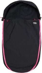 The Buppa Brand Softshell Åkpåse, All Black Pink