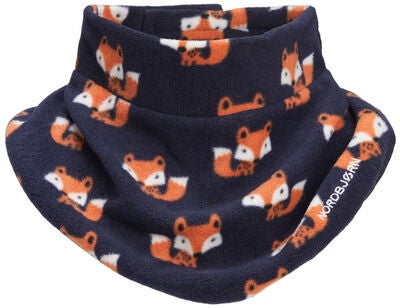Nordbjørn Sarek Fleece Krage 2-Pack, Navy Fox