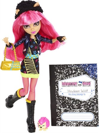 Monster High Docka Core 13 Wishess Howleen Wolf