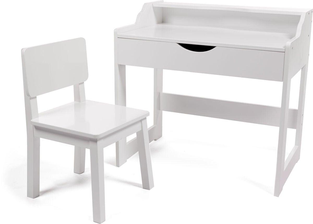 Köp Cloudberry Castle Skrivbord och Stol, Vit | Jollyroom